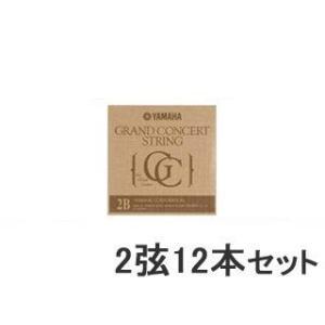 YAMAHA/ヤマハ  【12本セット】 クラシックギター弦  S12 【2弦】|murauchi