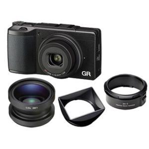 【マクロレンズ&アダプターセット】  GRIIBLK+GM1set 大型イメージセンサー搭載!リコー...