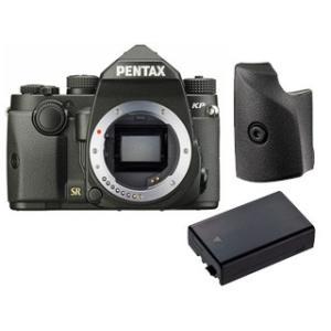 KPGP1671DLI109 小型ボディの一眼レフカメラ PENTAX KPとグリップM&純正バッテ...