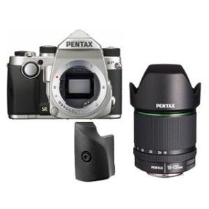 PENTAX/ペンタックス  KPボディキット(シルバー)+グリップM+【アウトレット】DA18-135mmF3.5-5.6レンズセット【kpset】|murauchi
