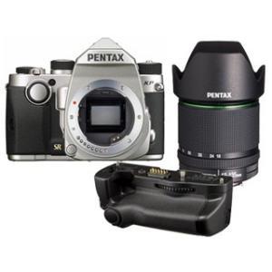 PENTAX/ペンタックス  KPボディキット(シルバー)+バッテリーグリップ+【アウトレット】DA18-135mmF3.5-5.6セット【kpset】|murauchi