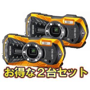 RICOH/リコー  RICOH WG-50(オレンジ)×2台セット【wg50set】 murauchi