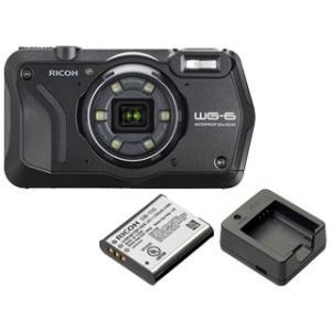 RICOH/リコー  WG-6(ブラック)+DB-110 バッテリー+BJ-11 充電器セット【wg...