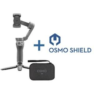 DJI  Osmo Mobile 3 コンボ スマートフォン用折りたたみ式ジンバル スタビライザーDJI Card OSMO Shieldセット|murauchi