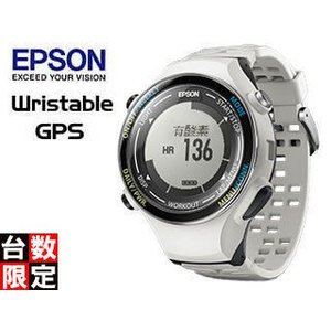 7d2100f83a 【nightsale】 EPSON/エプソン 【オススメ】SF-850PC Wristable ランニングギア (クールホワイト)【GPS ・脈拍計測・活動量計搭載】