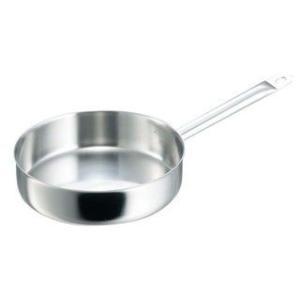 de BUYER/デバイヤー  イノックス 三重底 浅型片手鍋(蓋無)3467−24|murauchi