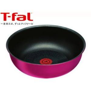 T-fal/ティファール  【納期未定】インジニオ・ネオ IHルビー・エクセレンス ウォックパン 26cm L66377|murauchi