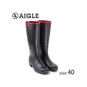 AIGLE/エーグル  ラバーレインブーツ MISS JULIETTE A (MARINE ROUGE/サイズ40:25.0cm)|murauchi