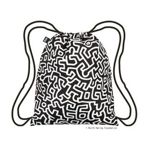 LOQI/ローキー  LOQIバックパック■撥水加工■キースヘリング/KEITH HARING Untitled Backpack|murauchi