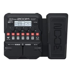 ZOOM/ズーム  【納期5月末予定】ZOOM G1X  FOUR Multi-Effects Processor マルチエフェクター