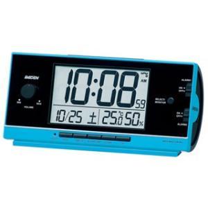 SEIKO/セイコークロック  NR534L 大音量電波目覚し時計 温湿度表示/日付表示/ライトつき 【ライデン】(riden)|murauchi