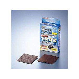 I-THREE/アイスリー工業  消臭除菌剤 ヨードde排水口キレイ (10枚入) |murauchi