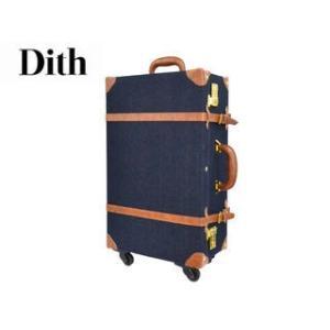 Dith/ディス  デニム トランクキャリーケース   Sサイズ|murauchi