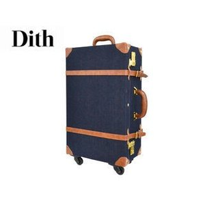 Dith/ディス  デニム トランクキャリーケース   Mサイズ|murauchi
