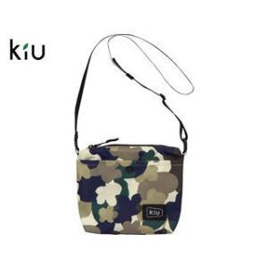 kiu/キウ  K75-141 防水 イージー サコッシュ 【W20.5cm×H17cm×D4.5c...