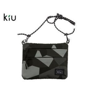 kiu/キウ  K67-103 防水 サコッシュ W ジッパー 【W22.5cm×H17.5cm】 ...