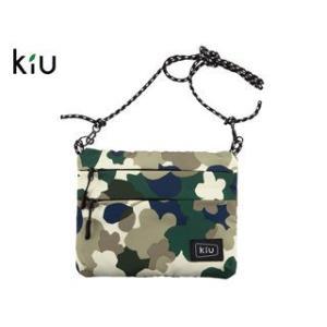 kiu/キウ  K67-141 防水 サコッシュ W ジッパー 【W22.5cm×H17.5cm】 ...