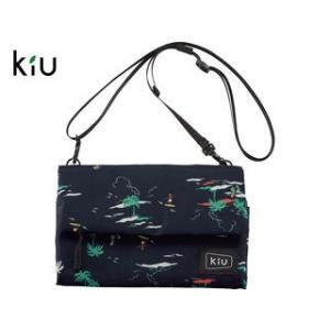 kiu/キウ  K80-106 防水 ストレージ サコッシュ 【W22cm×H15.5cm】 (リゾ...