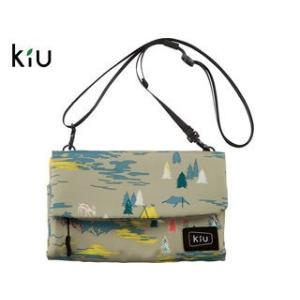 kiu/キウ  K80-138 防水 ストレージ サコッシュ 【W22cm×H15.5cm】 (クラ...