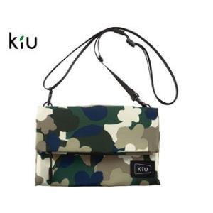 kiu/キウ  K80-141 防水 ストレージ サコッシュ 【W22cm×H15.5cm】 (カモ...