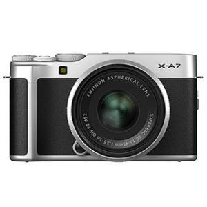 FUJIFILM/フジフイルム  F X-A7LK-S(シルバー)  FUJIFILM X-A7 レンズキット ミラーレス一眼カメラ|murauchi