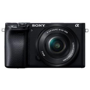 SONY ソニー  ILCE-6400L-B(ブラック) α6400 パワーズームレンズキット デジ...