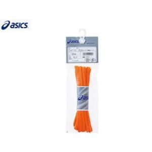 asics/アシックス  TXX116-09 フラットシューレース(細タイプ)[オレンジ]【120】 murauchi