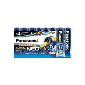 Panasonic (EVOLTA NEO)  乾電池エボルタネオ単4形8本パック LR03NJ/8SW|murauchi