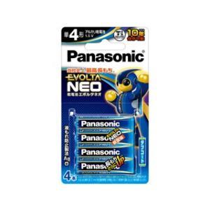 Panasonic (EVOLTA NEO)  乾電池エボルタネオ単4形4本パック LR03NJ/4B|murauchi
