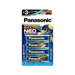 Panasonic (EVOLTA NEO)  乾電池エボルタネオ単3形4本パック LR6NJ/4B|murauchi