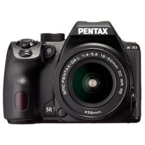 PENTAX/ペンタックス  K-70 18-50RE キット (ブラック)