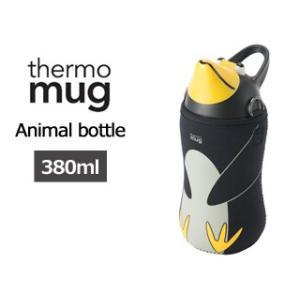 thermo mug/サーモマグ  アニマルボトル ブラック AM1838|murauchi