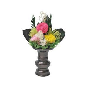 オフィススリーワークス  プリザーブドフラワー製 お仏壇用お供え花/E9102−73