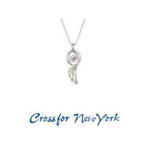 Crossfor NewYork/クロスフォーニューヨーク  ダンシングストーン ネックレス  【NYP-537 】Dancing Angel wing murauchi