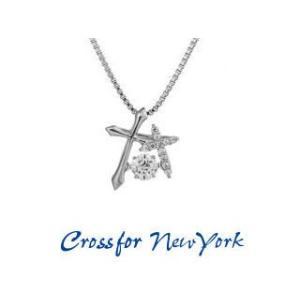 Crossfor NewYork/クロスフォーニューヨーク  ダンシングストーン ネックレス 【NYP-595】 Double Cross murauchi