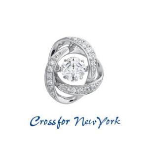 Crossfor NewYork/クロスフォーニューヨーク  ダンシングストーン Loop1 タイニーピン 【NY-T011】【CFNYT】 murauchi