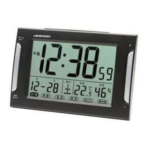 ADESSO/アデッソ  DA-33 ダブルアラーム電波時計 日付・湿温度表示/快適、各種注意報表示|murauchi