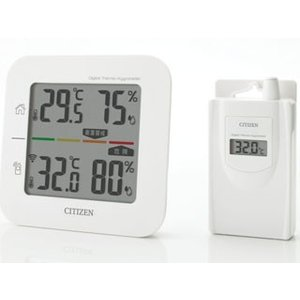 CITIZEN/シチズン  コードレス温湿度計 THD501 murauchi
