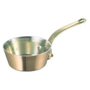 WADASUKE/和田助製作所  SW 銅 極厚 テーパー鍋 蓋無(真鍮柄)24cm murauchi