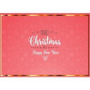 SEI Scratch/セイスクラッチ  【期間限定】 SEI-SC-02  クリスマスカード2  【レッド】|murauchi