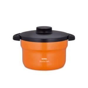 サーモス  真空保温調理器シャトルシェフ 3.0L オレンジ|murauchi