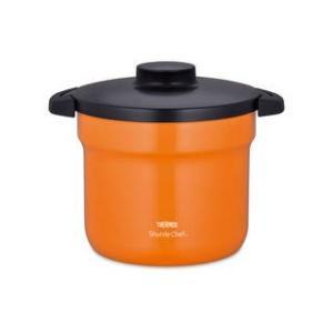 サーモス  真空保温調理器シャトルシェフ 4.5L オレンジ|murauchi
