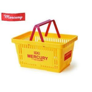 MERCURY/マーキュリー MEMABAYE カゴ マーケット 買物バスケット アメリカ雑貨 (イエロー)