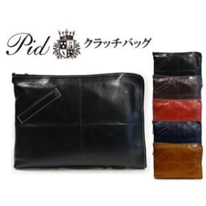 PID/ピー・アイ・ディー  25861 Arriver/アリヴェ メンズ 本革2WAYクラッチバッグ (ブラック)|murauchi