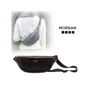 MORGAN/モルガン  MOD04 コンパクトボディバッグ (ブラック)|murauchi