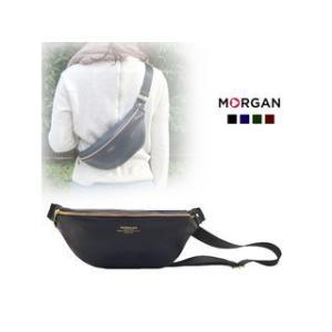 MORGAN/モルガン  MOD04 コンパクトボディバッグ (ネイビー)|murauchi