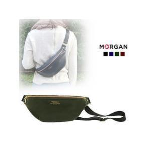 MORGAN/モルガン  MOD04 コンパクトボディバッグ (カーキ)|murauchi