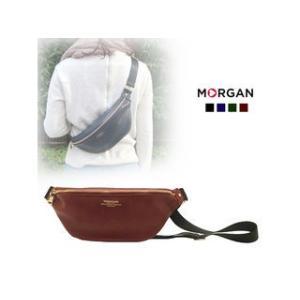 MORGAN/モルガン  MOD04 コンパクトボディバッグ (ワインレッド)|murauchi