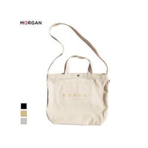 MORGAN/モルガン  MOF01 2WAYキャンバストートバッグ (ゴールド)|murauchi