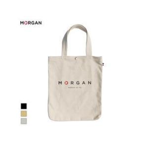 MORGAN/モルガン  MOF02 キャンバストートバッグ (ブラック)|murauchi